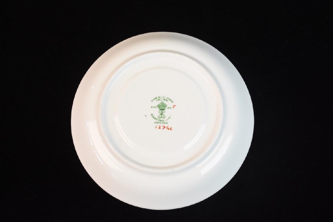 Staffordshire English Bone China Tea Set - 4