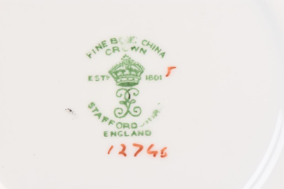 Staffordshire English Bone China Tea Set - 5
