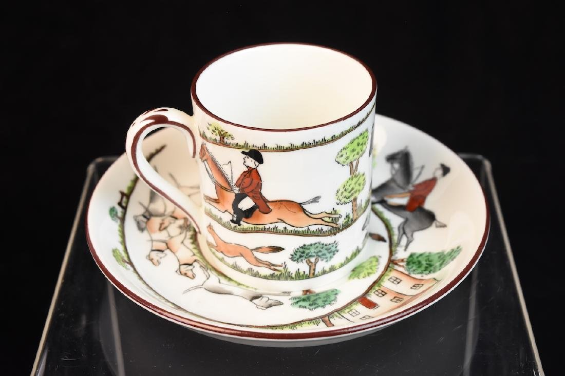 Staffordshire English Bone China Tea Set - 6