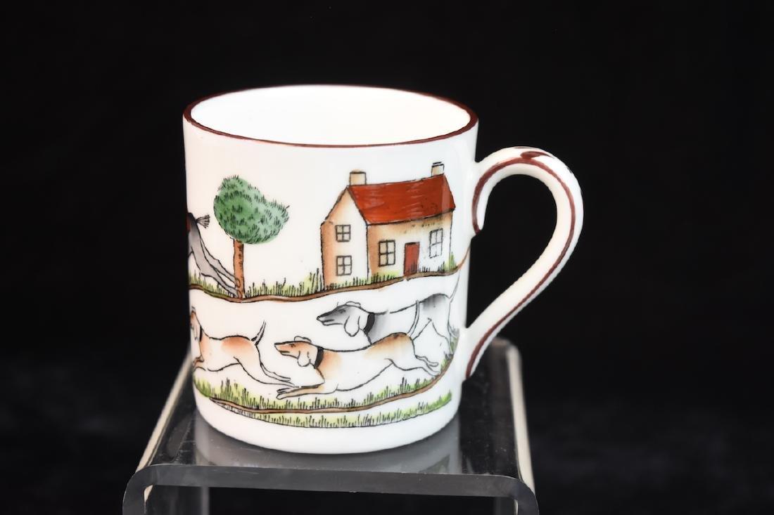 Staffordshire English Bone China Tea Set - 7