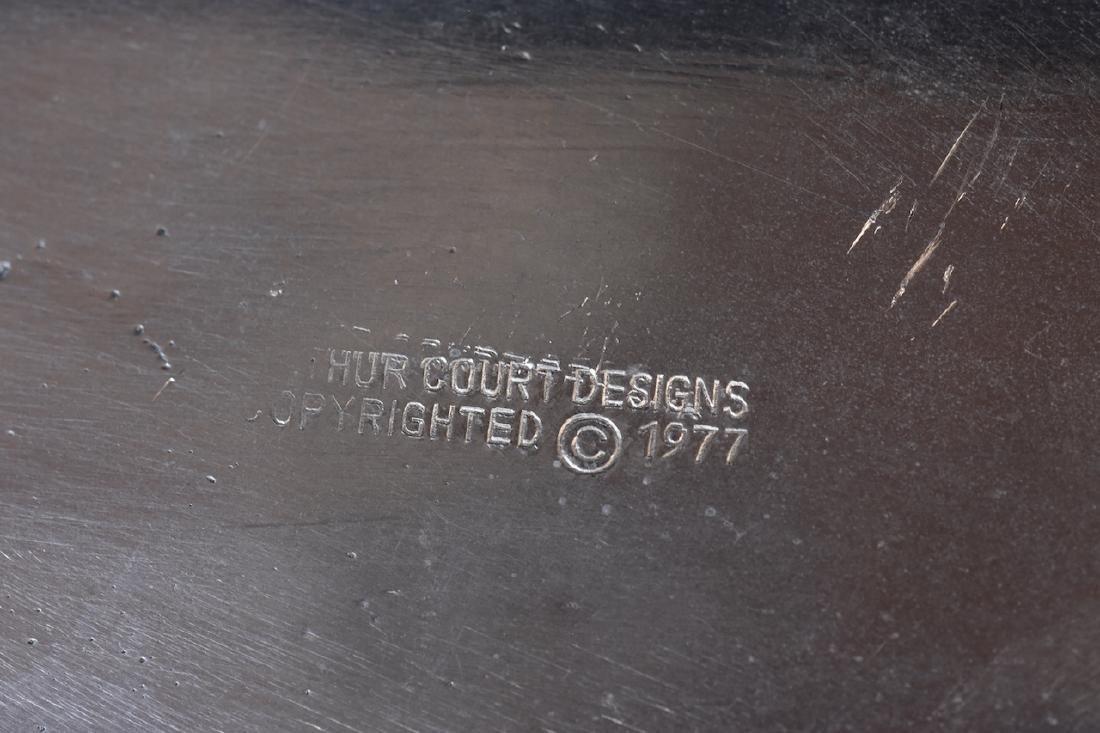 Arthur Court Aluminum Chicken Tureen c. 1977 - 8
