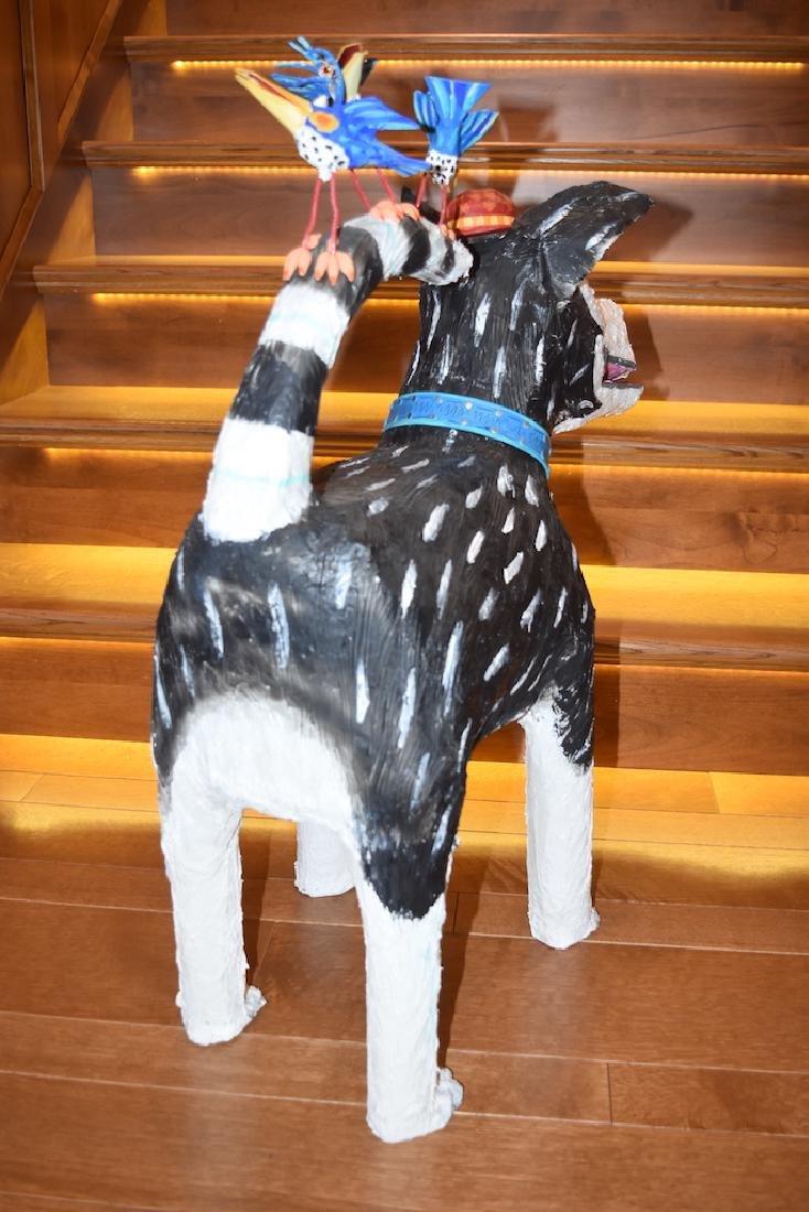 Joyce Curvin Zany Recycled Dog Sculpture - 5