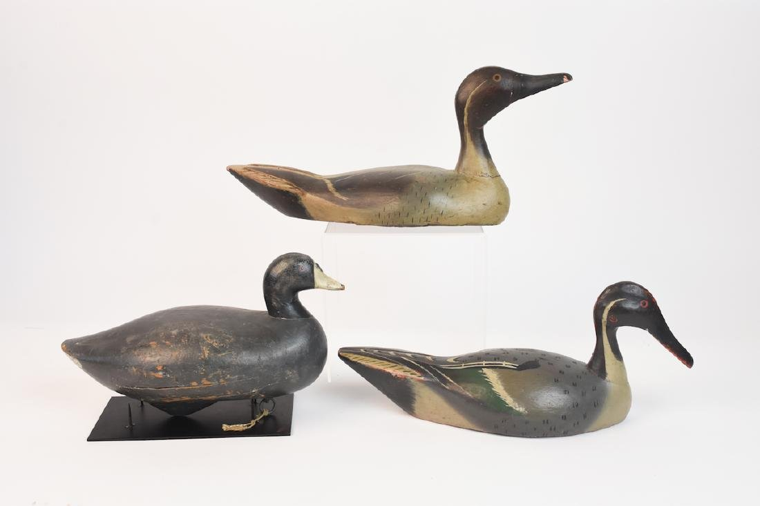(3) Wood Duck Decoys