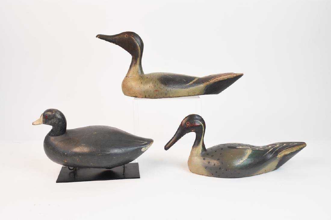 (3) Wood Duck Decoys - 2