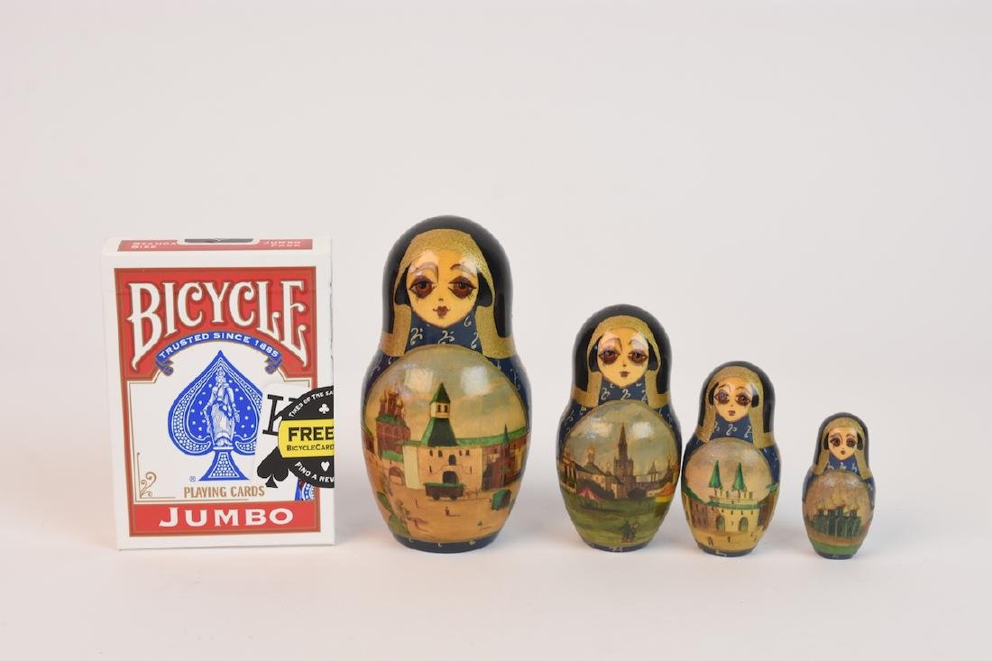 Authentic Russian Nesting Dolls; signed - 15