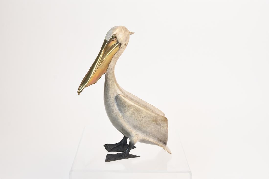 Bronze Cast Pelican by Brian Arthur, 17/75
