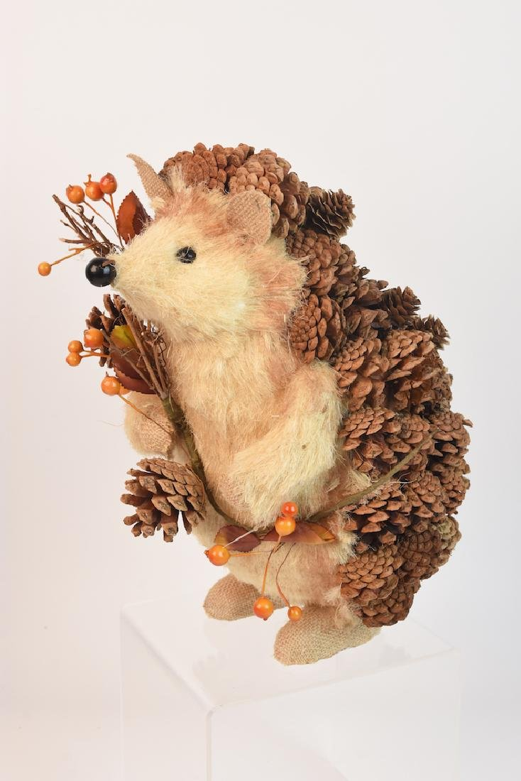 Collection of Natural Straw Woodland Creatures - 10