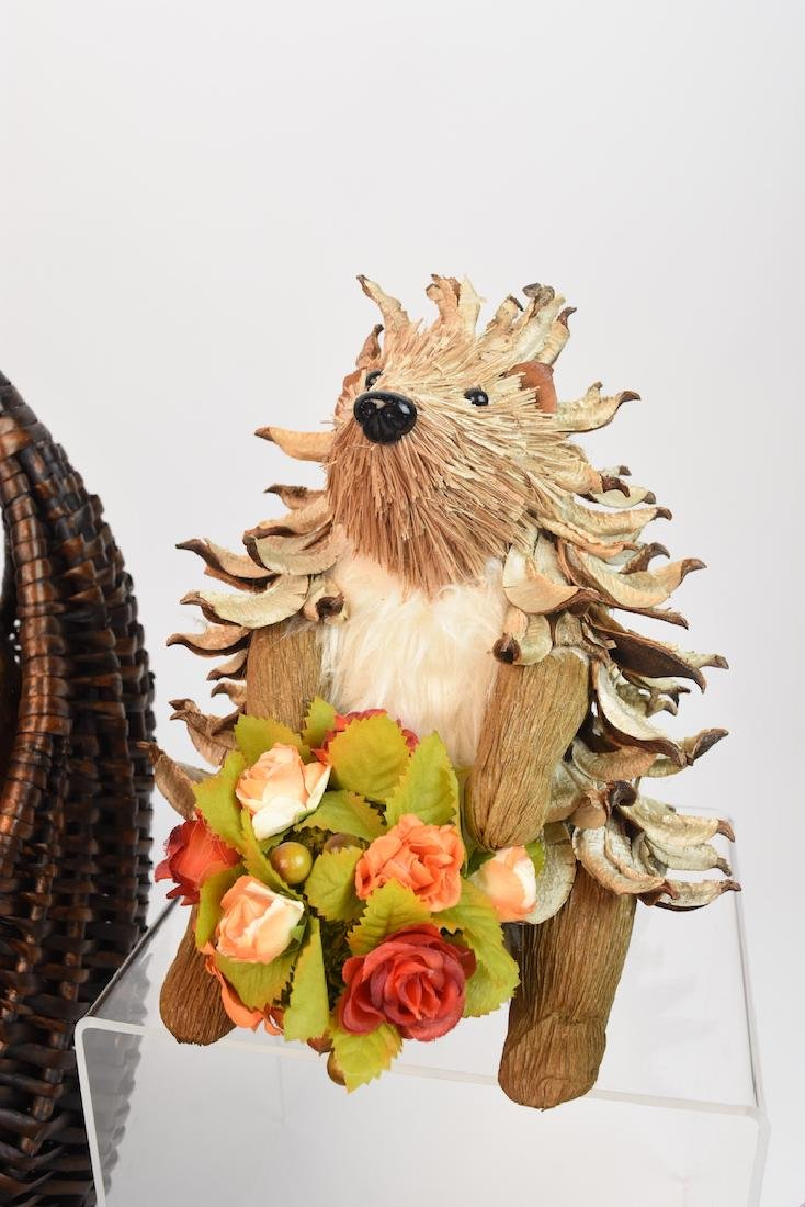 Collection of Natural Straw Woodland Creatures - 2