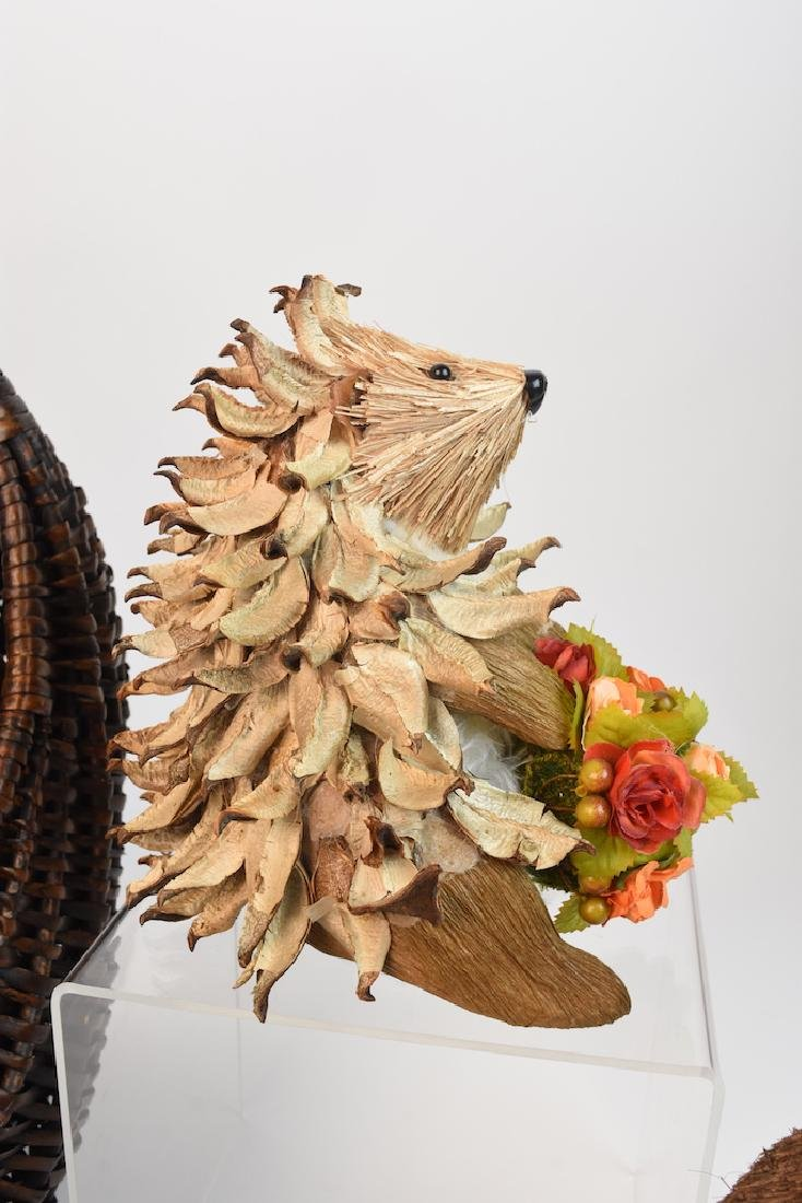 Collection of Natural Straw Woodland Creatures - 3