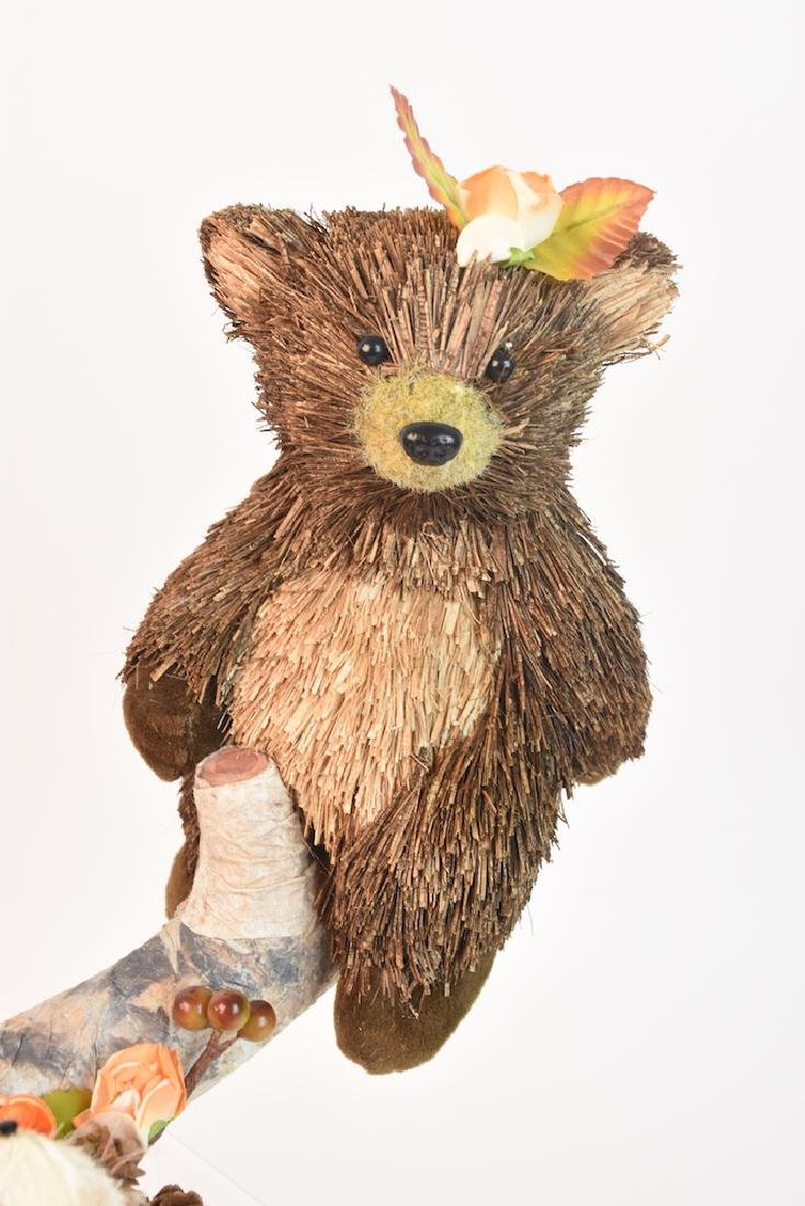 Collection of Natural Straw Woodland Creatures - 5