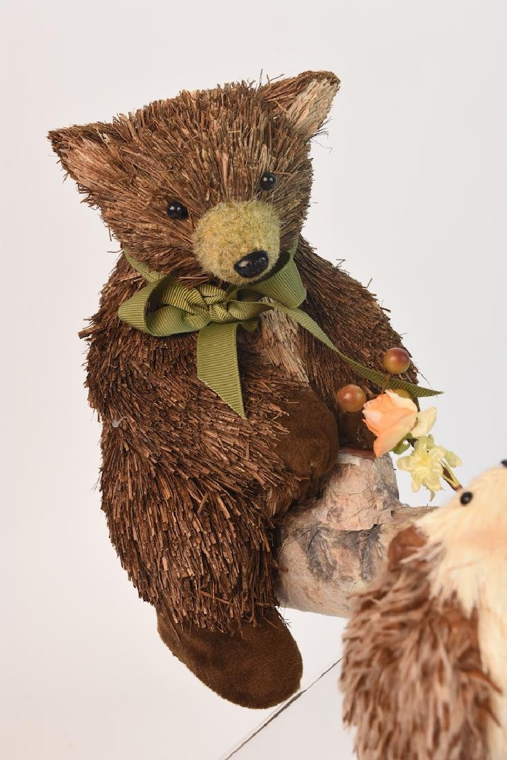 Collection of Natural Straw Woodland Creatures - 6
