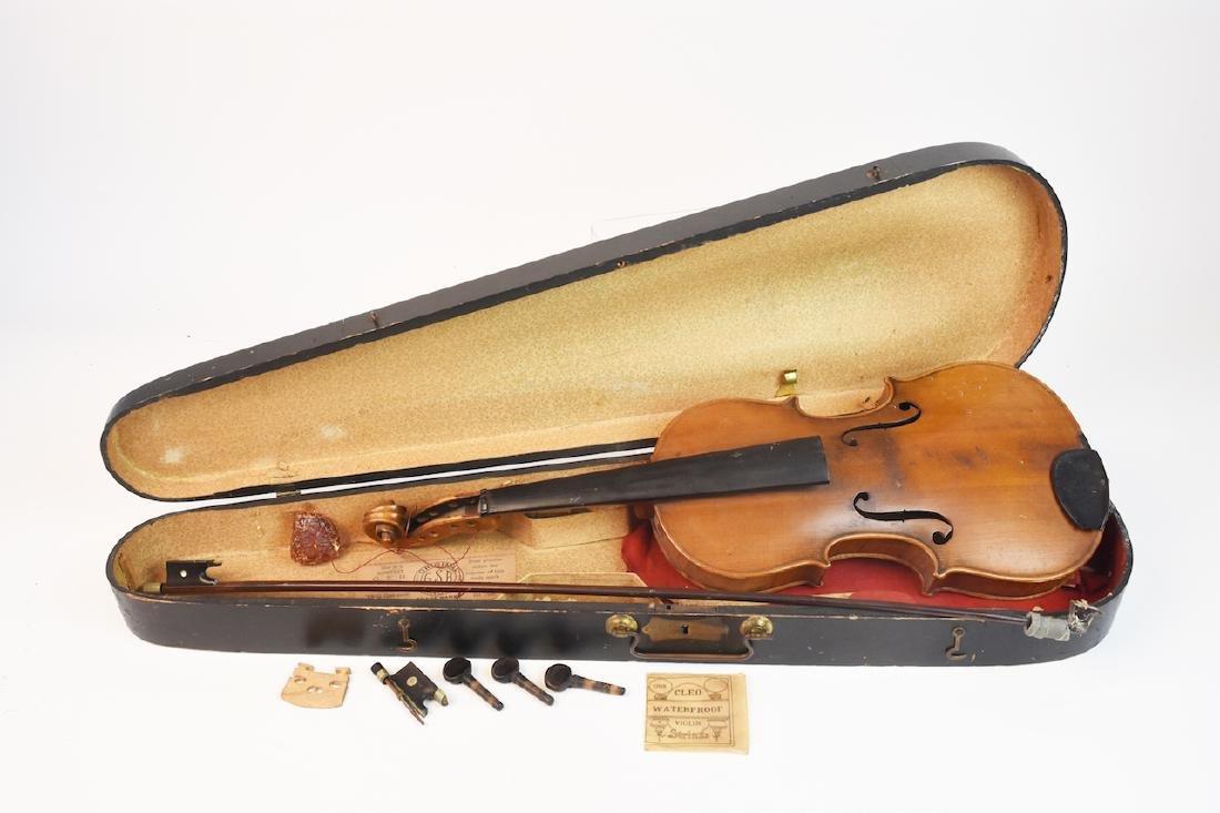 Vintage Conservatory Violin in G.S.B. Case