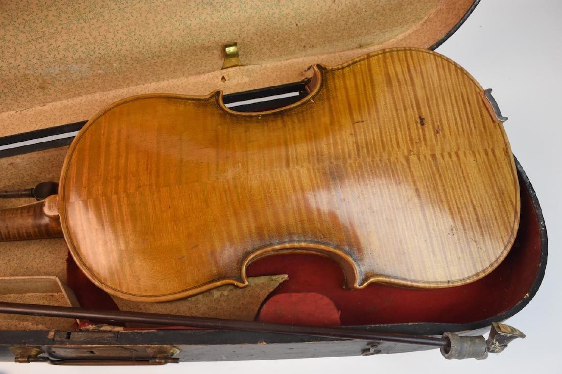 Vintage Conservatory Violin in G.S.B. Case - 3
