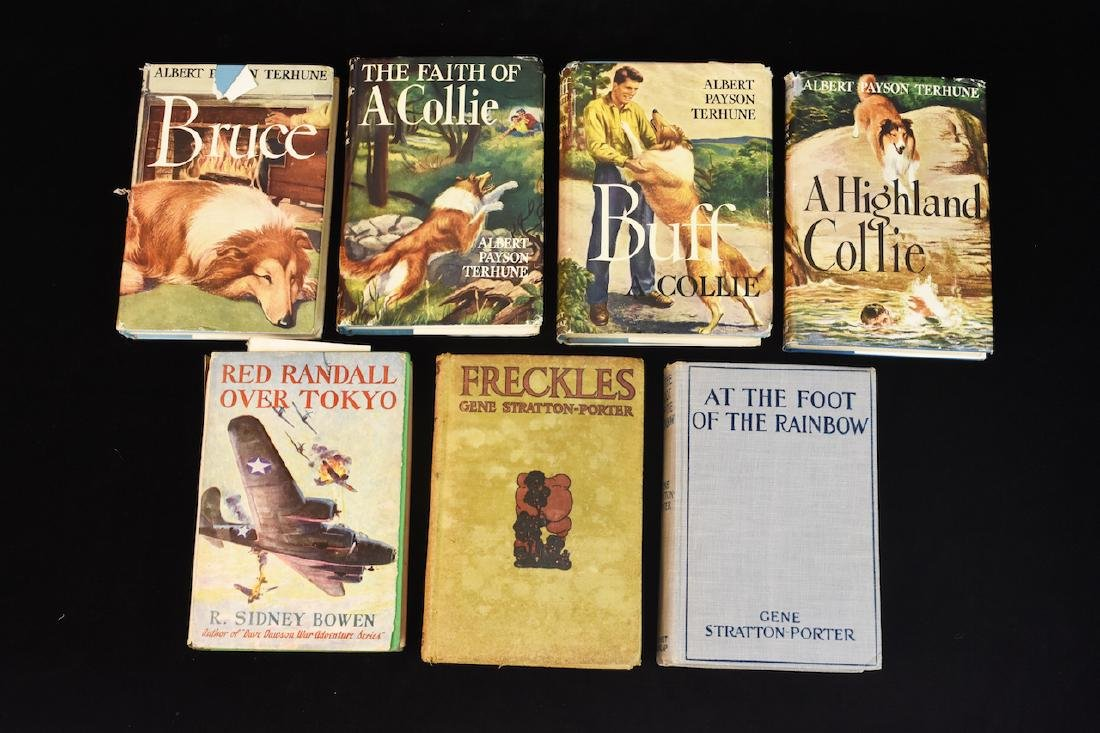 (7) Grosset & Dunlap Books, Gene Stratton Porter