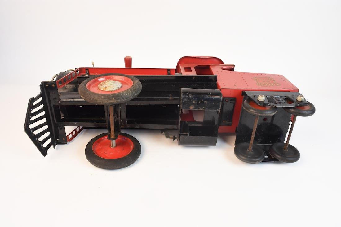 Keystone R.R. 6400 Ride-On Engine Toy - 9
