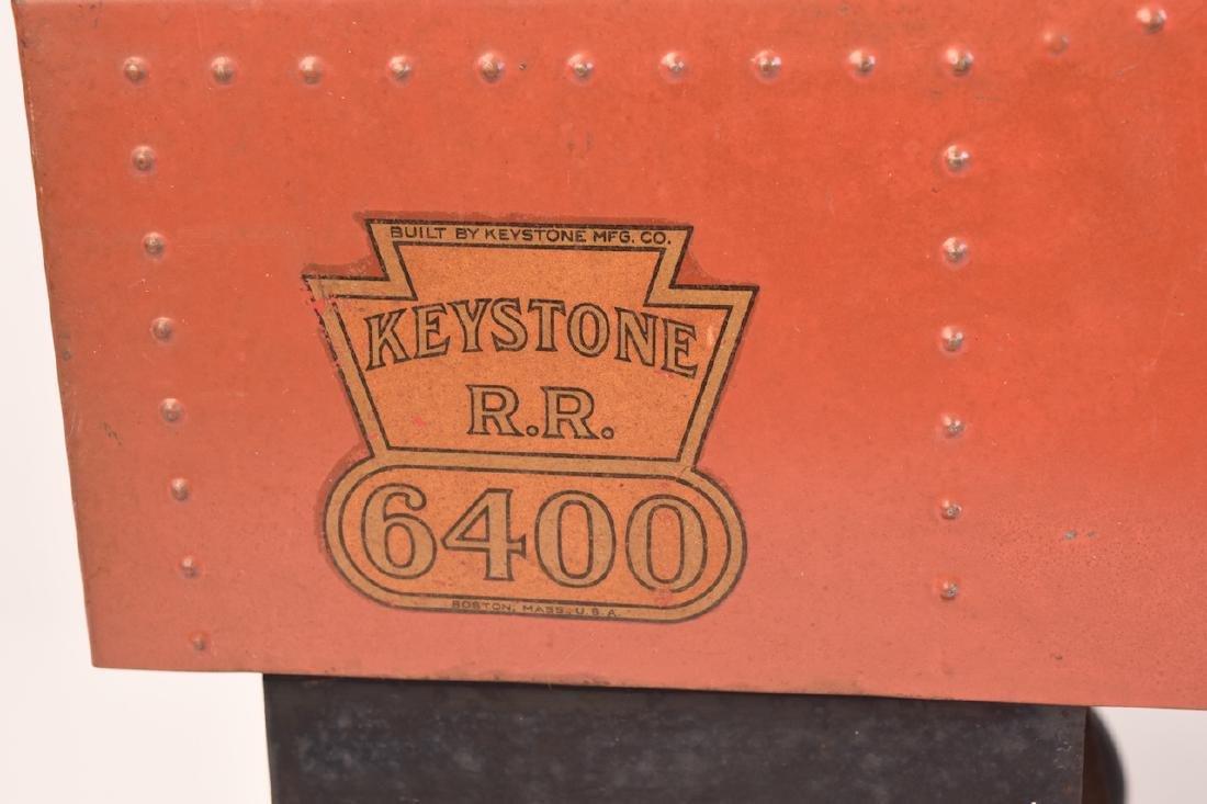 Keystone R.R. 6400 Ride-On Engine Toy - 2