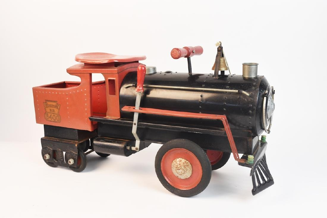 Keystone R.R. 6400 Ride-On Engine Toy - 3