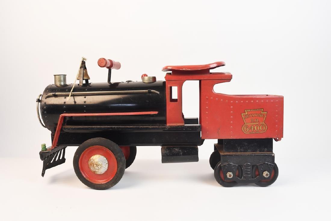 Keystone R.R. 6400 Ride-On Engine Toy - 4