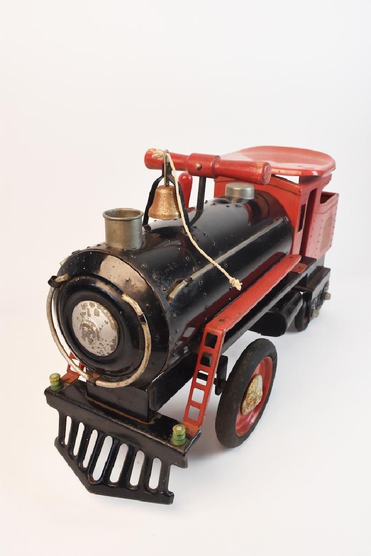 Keystone R.R. 6400 Ride-On Engine Toy - 6