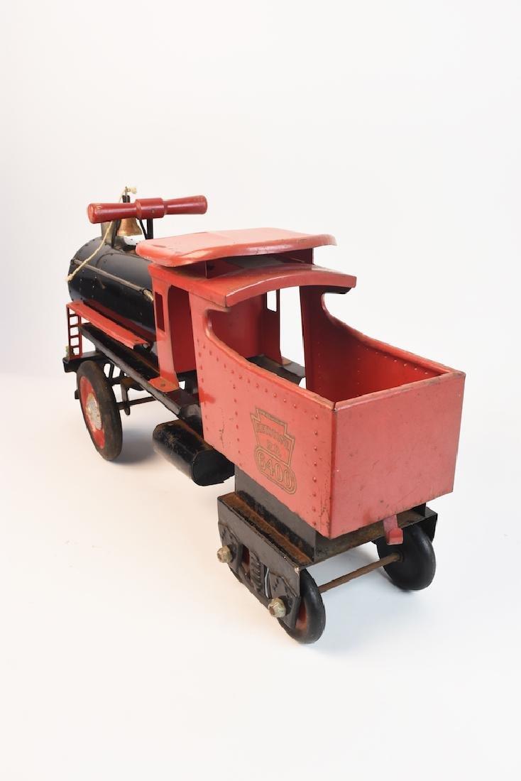 Keystone R.R. 6400 Ride-On Engine Toy - 7