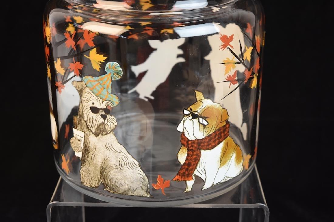 Whimsical Dog Inspired Bowls, Tray & Jar - 4