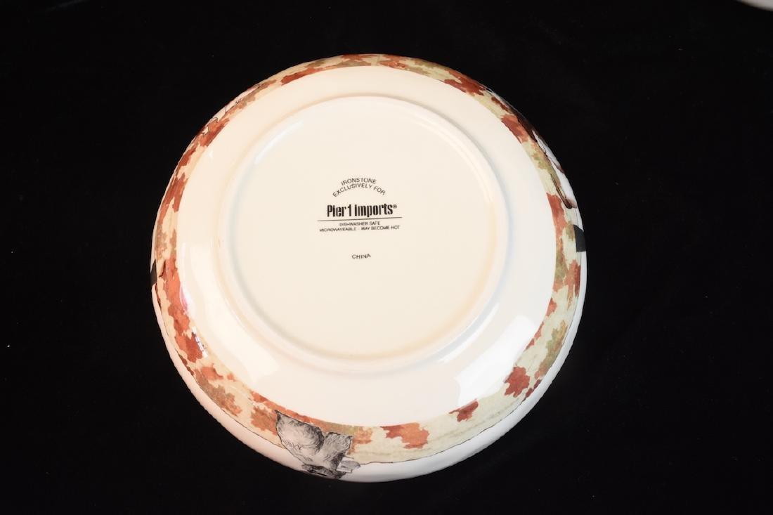Whimsical Dog Inspired Bowls, Tray & Jar - 7