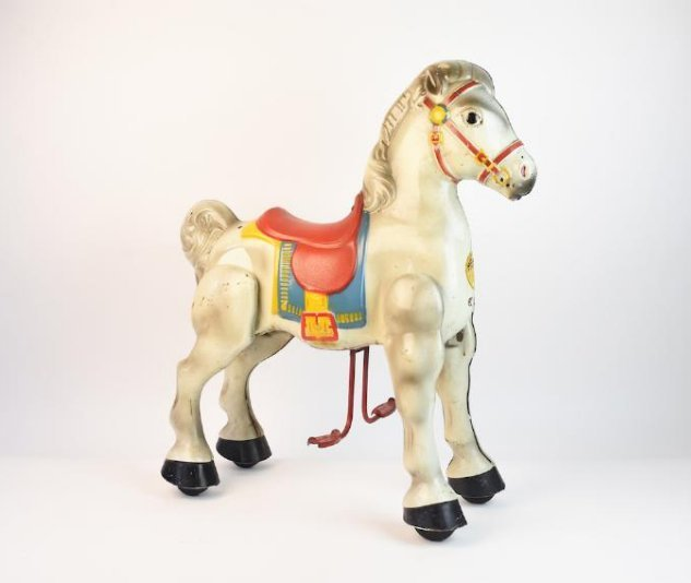 Mobo Walking Horse Bronco Ride-on Toy by Sebel & C