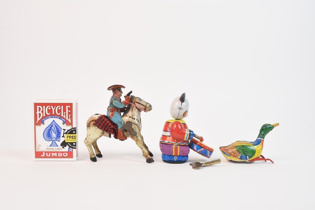 Vintage Tin-litho Wind-up Children Toys - 10