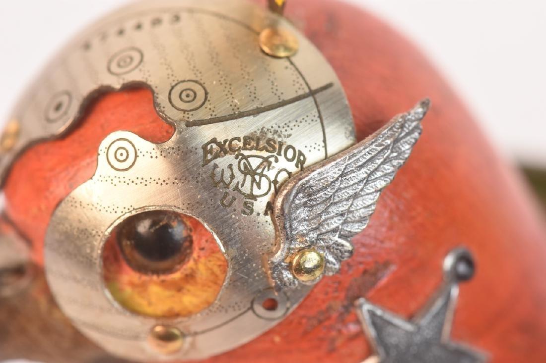 Jim & Tori Mullan Mullanium Decoy Bird Steampunk - 4