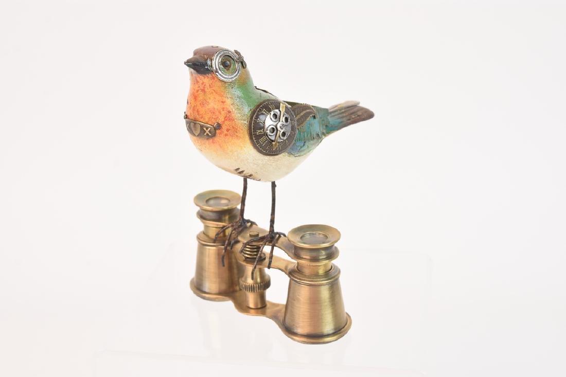 Vintage Steampunk Bird Decoy Jim & Tori Mullan