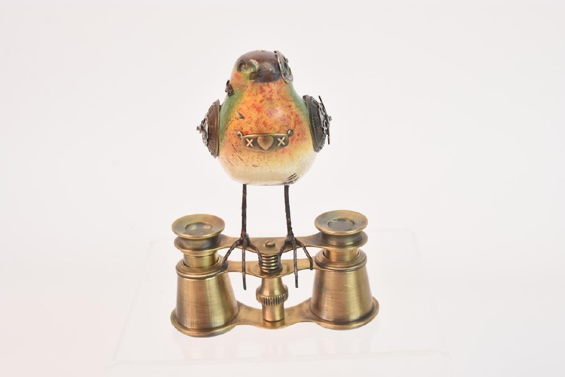 Vintage Steampunk Bird Decoy Jim & Tori Mullan - 3