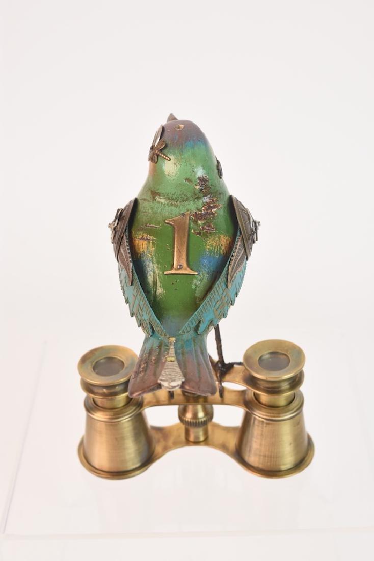 Vintage Steampunk Bird Decoy Jim & Tori Mullan - 6