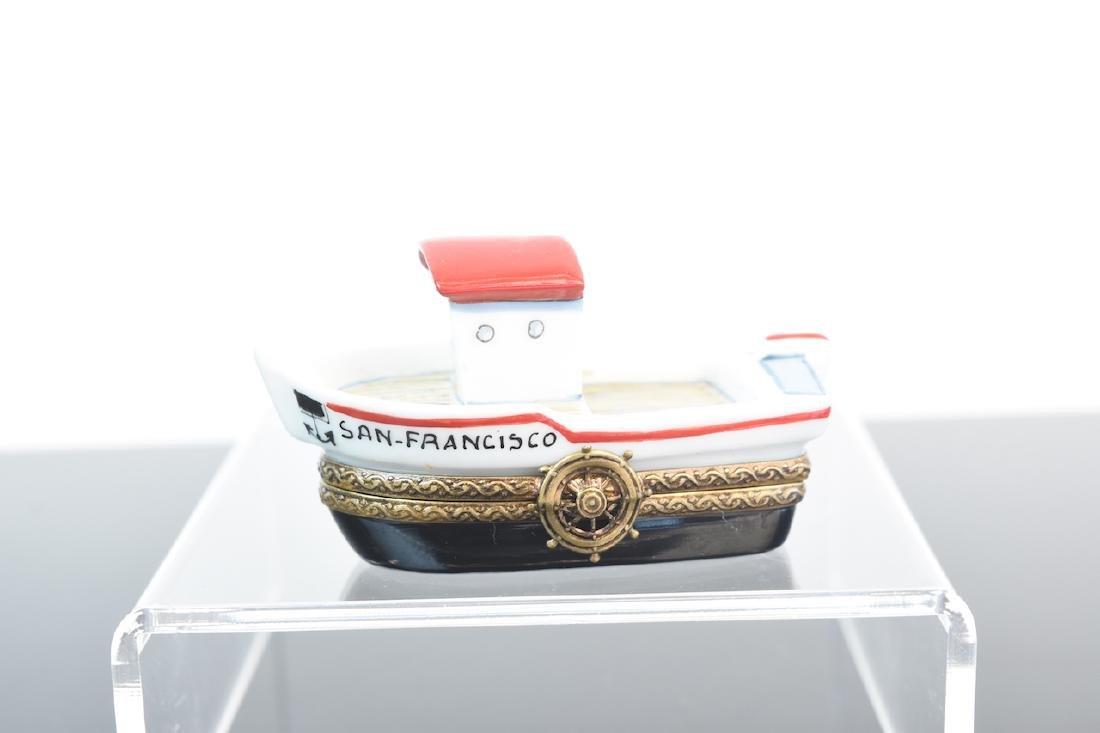 (2) Limoges Porcelain Pill Boxes - 2