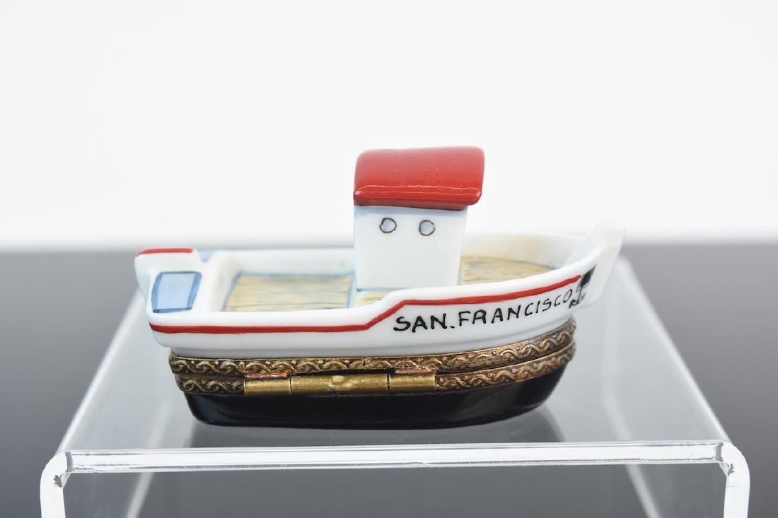 (2) Limoges Porcelain Pill Boxes - 3