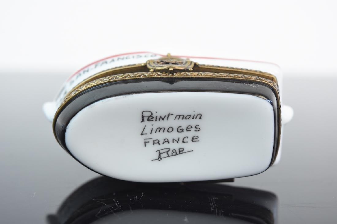 (2) Limoges Porcelain Pill Boxes - 5