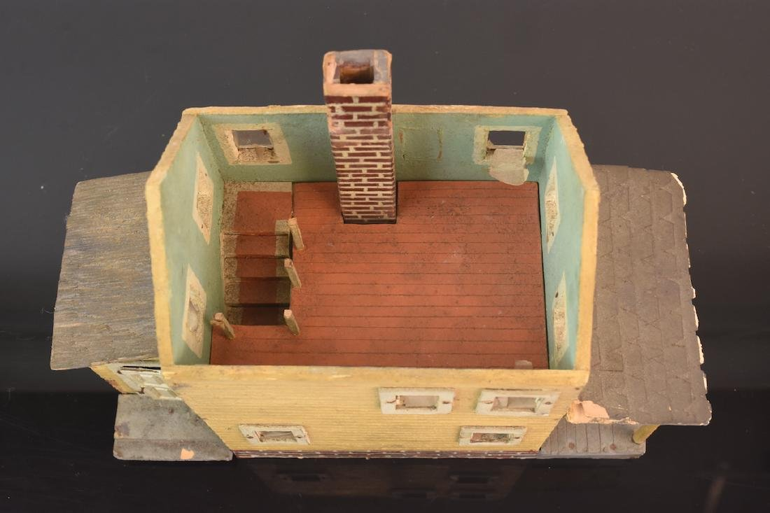 1:48 Scale Assembled 2-Story House - 10