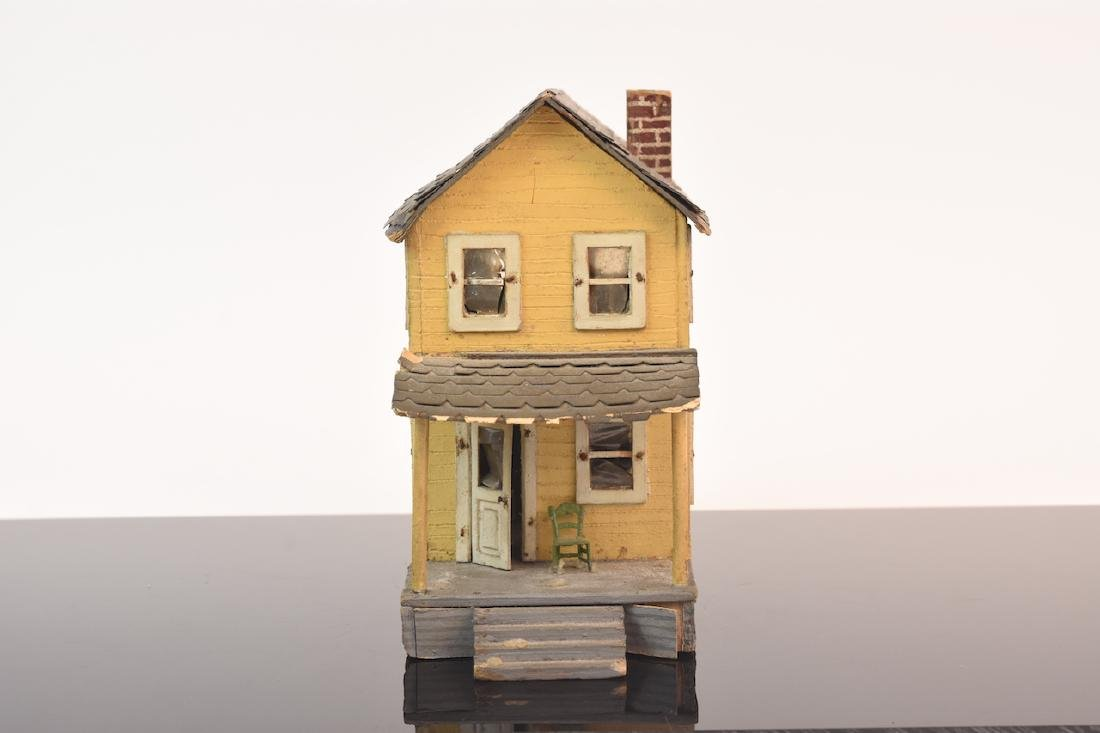 1:48 Scale Assembled 2-Story House