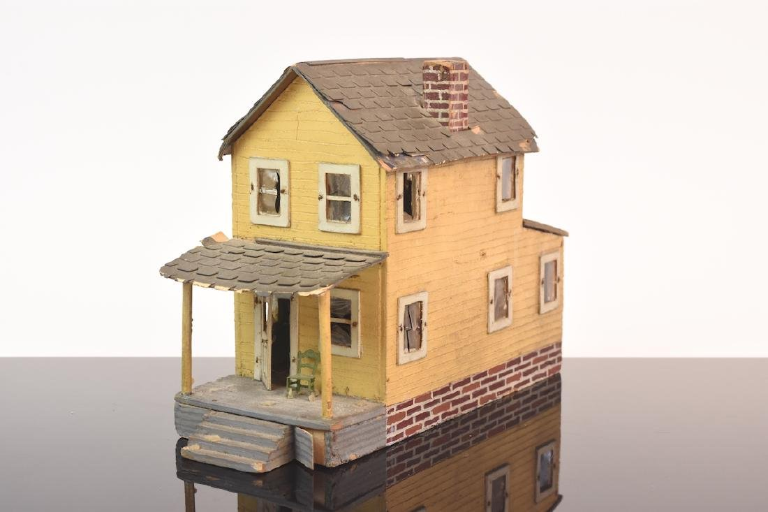 1:48 Scale Assembled 2-Story House - 2