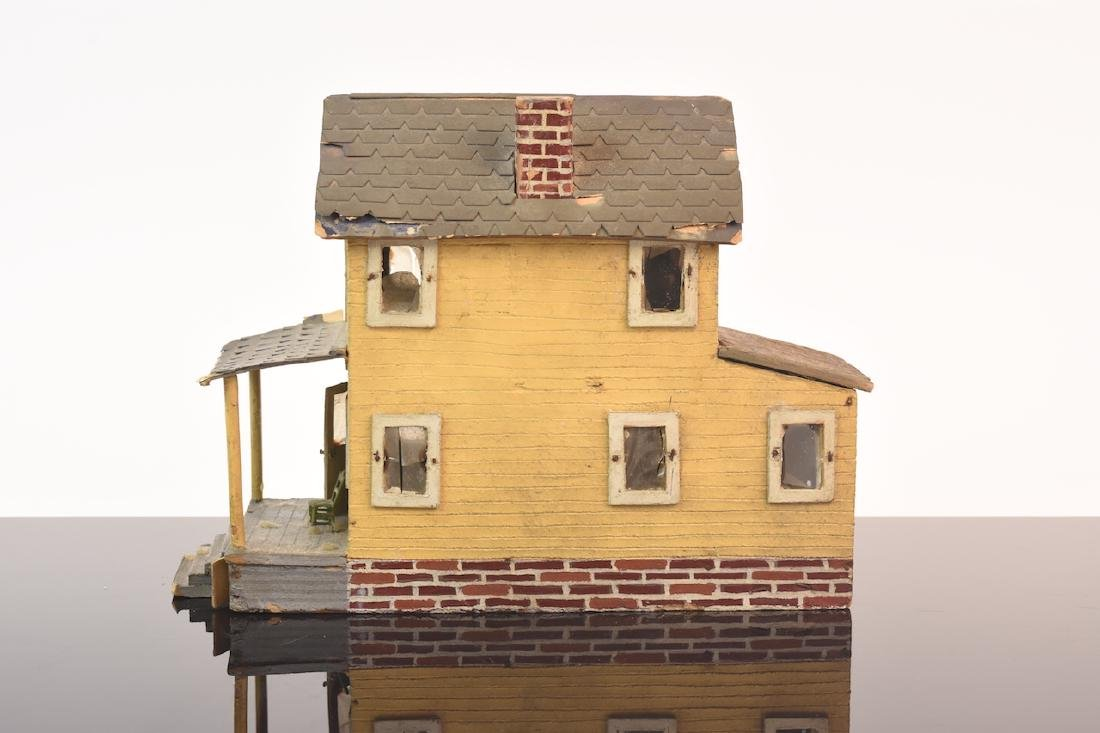 1:48 Scale Assembled 2-Story House - 3