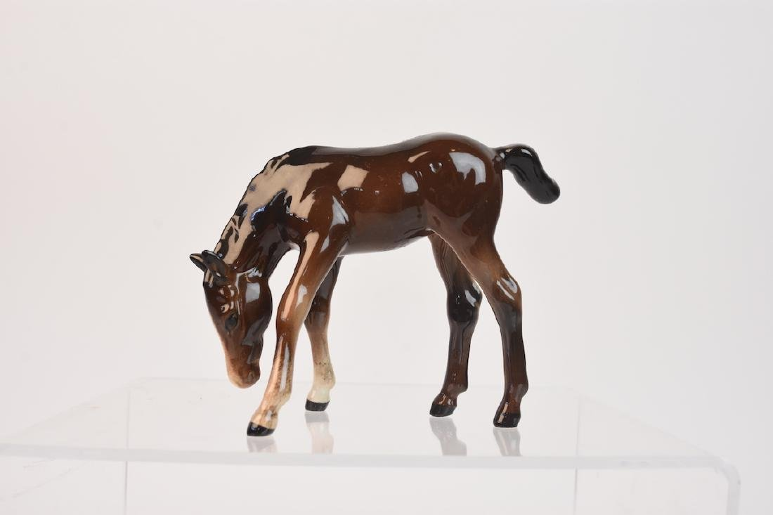 (2) Beswick Ceramic Horse Figurines - 3