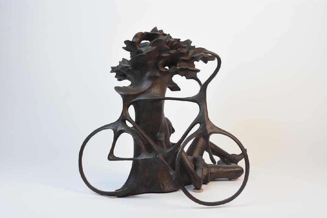 "Harry Marinsky Cast Bronze Statue ""Mountain Solitude"" - 3"