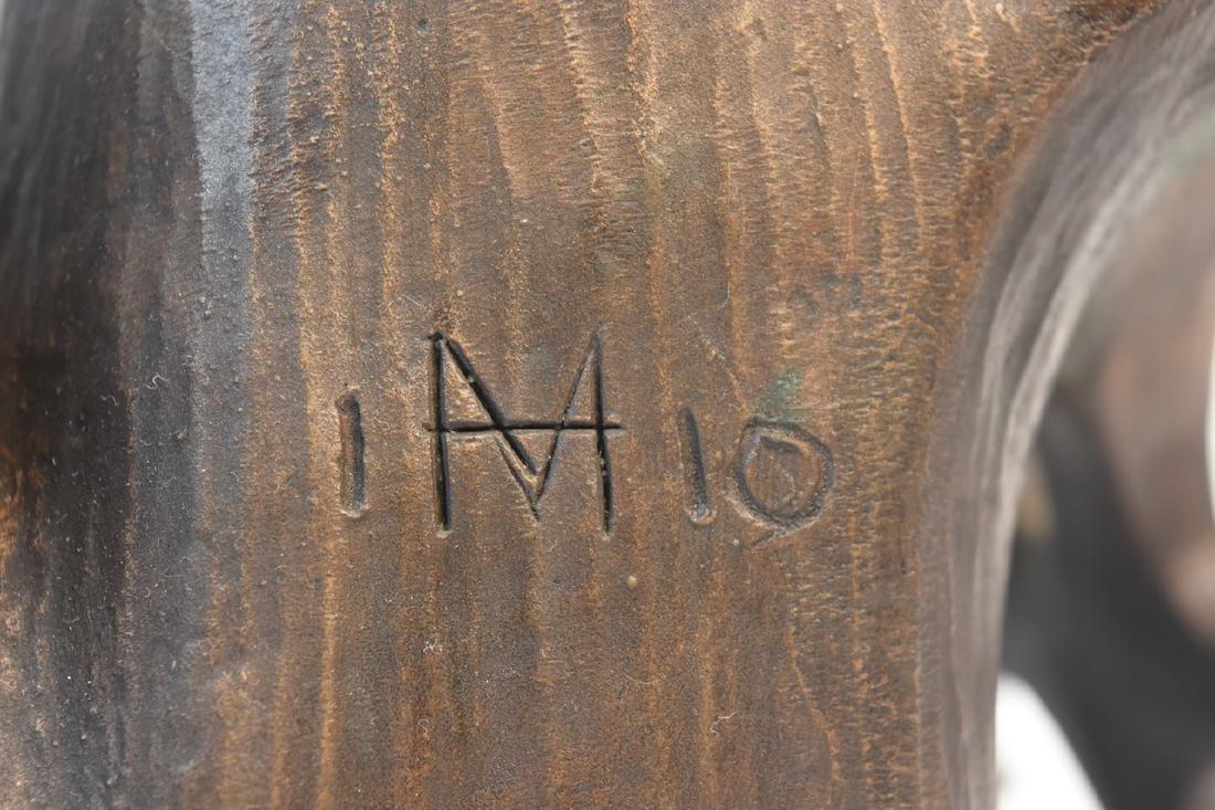 "Harry Marinsky Cast Bronze Statue ""Mountain Solitude"" - 6"