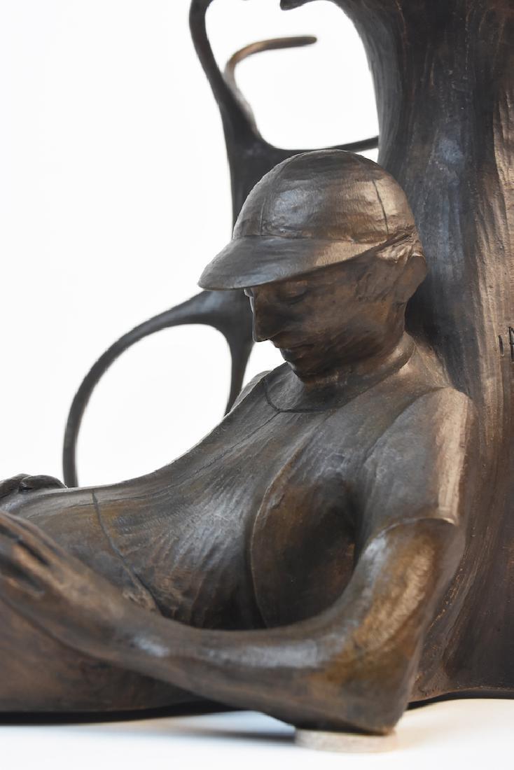 "Harry Marinsky Cast Bronze Statue ""Mountain Solitude"" - 9"