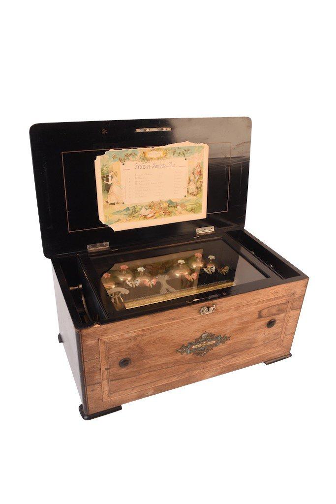 Picard-Lion Cylinder Music Box, Swiss Made