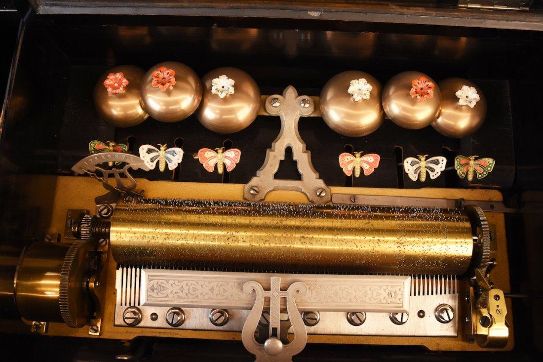 Picard-Lion Cylinder Music Box, Swiss Made - 3