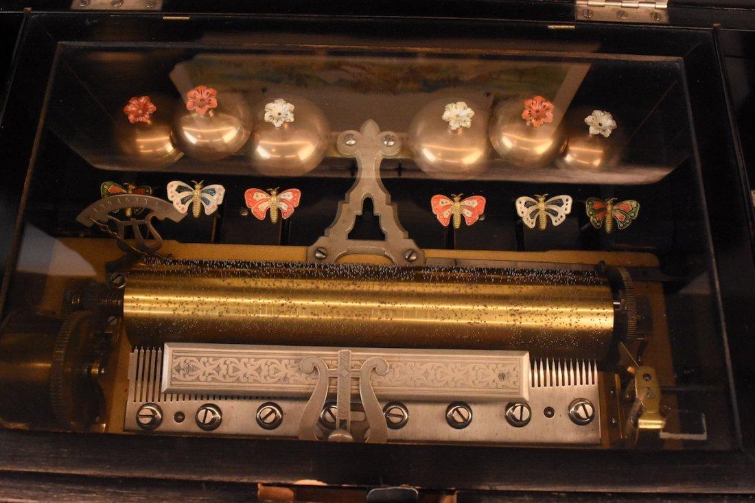 Picard-Lion Cylinder Music Box, Swiss Made - 4