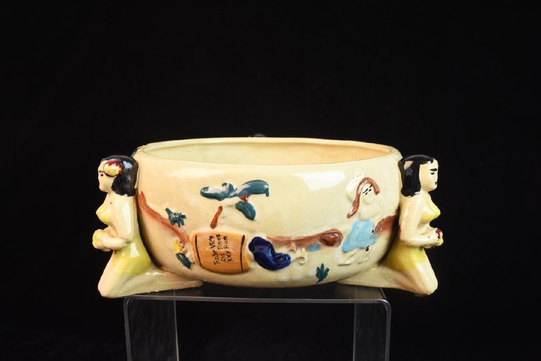 Vintage Trader Vic's Hawaiian Scorpion Bowl