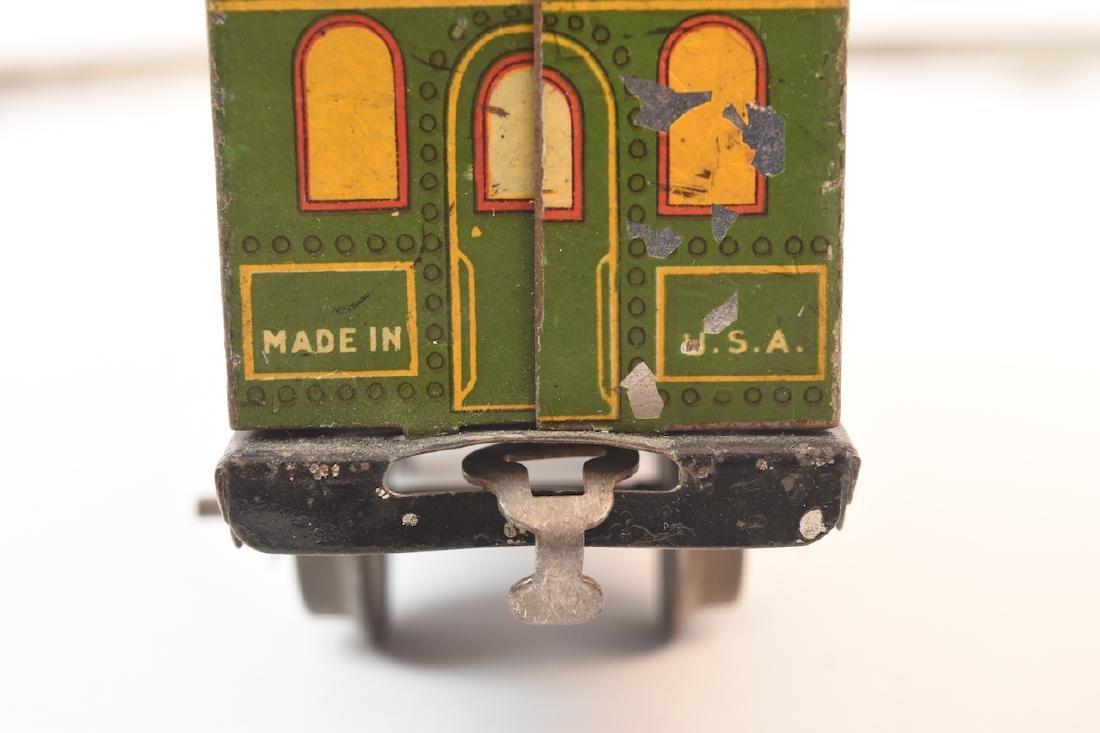 Prewar Tinplate American Flyer Wind-up Train Toy - 7