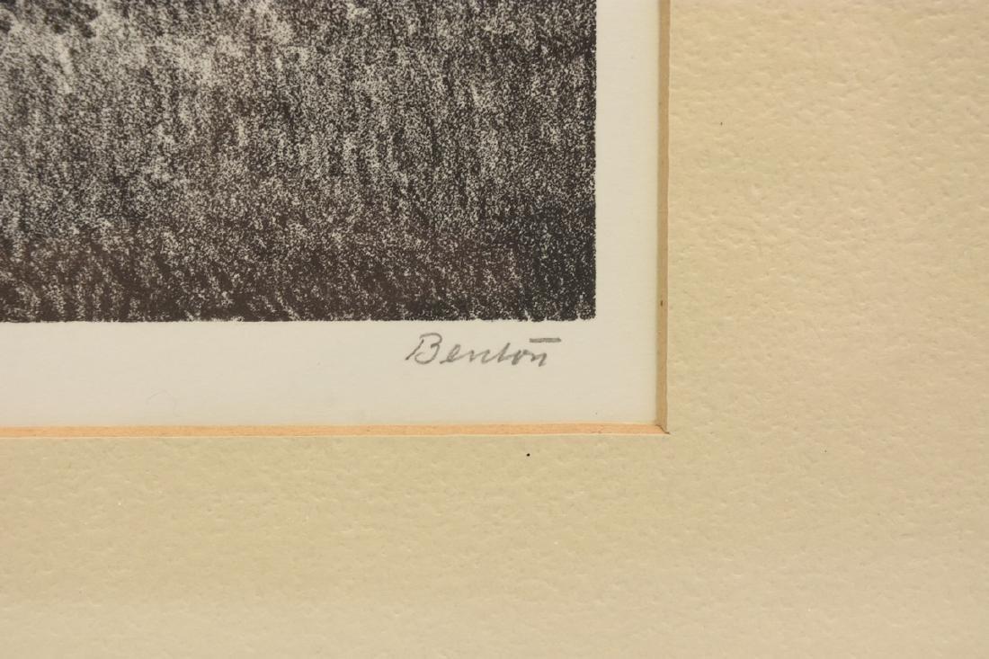 """Thomas Hart Benton """"Forward Pass"""" Litho; SLR - 4"""