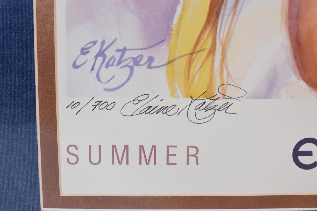 "Elaine Katzer ""Summer Kisses"" Print, SLL - 4"